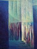 Velkoměstská sonáta,1990,110x90 cm,Olej