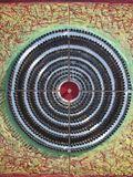 Vlastní terč, 2000, 46x46 cm, nábojnice