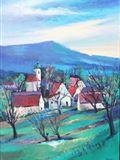 ZUBRNICE, 2010, 70 x 50 cm, OLEJ