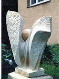 Velký květ, 2001, v. 116 cm, neprodejné