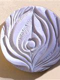 Otův reliéf, 2011, průměr 100 cm, prodáno