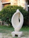 Blíženci, v.102 cm,r.2017, pískovec,prodáno