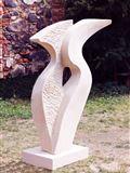 Vzhůru, v. 135 cm, r. 2019, pískovec, prodáno
